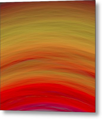 Wave-07 Metal Print by RochVanh