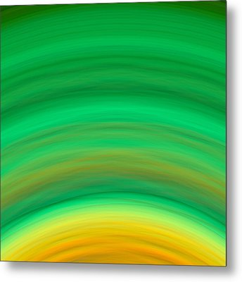 Wave-08 Metal Print by RochVanh