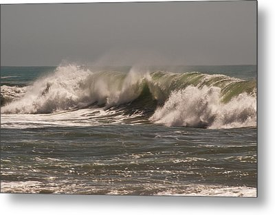 Metal Print featuring the photograph Wave At Kirk Creek Beach by Lee Kirchhevel