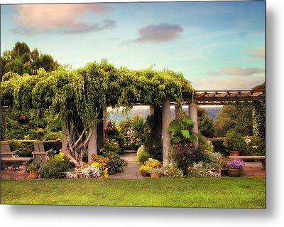 Wave Hill Views Metal Print by Jessica Jenney