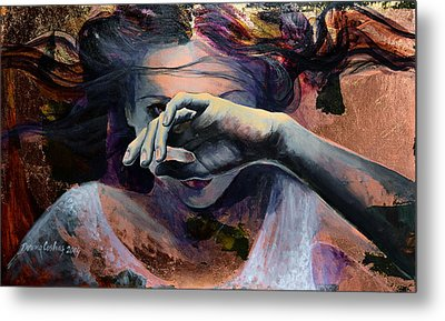 Wavering... Metal Print by Dorina  Costras
