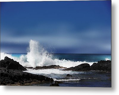 Metal Print featuring the photograph Waves by Athala Carole Bruckner
