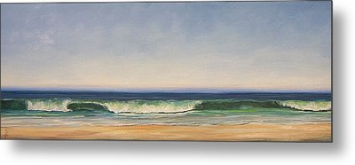 Waves Metal Print by Dianna Poindexter
