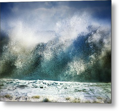 Waves Of Fury Metal Print