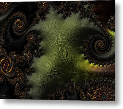 Waves Of Resonance Metal Print by Owlspook