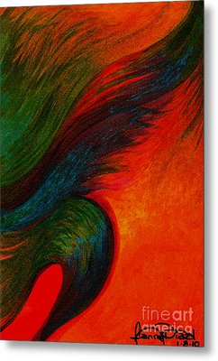 Waves Of The Wind Metal Print by Fanny Diaz
