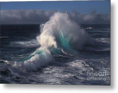 Waves Metal Print by Ron Sanford
