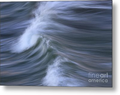 Wavescape Metal Print by Katherine Gendreau