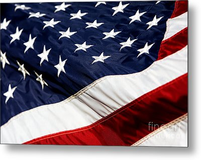 Waving At America Metal Print by Lincoln Rogers