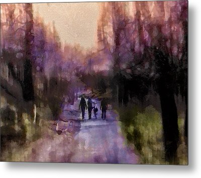 Way Home Metal Print by Madeleine Assink