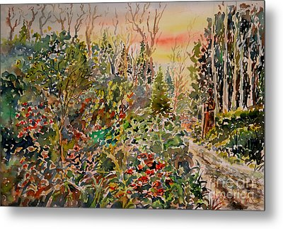 Way To Paradise Metal Print by Alfred Motzer
