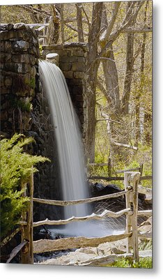 Wayside Grist Mill 7 Metal Print by Dennis Coates