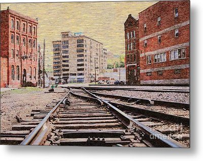Wb - West Bottoms - Kcmo Metal Print by Liane Wright