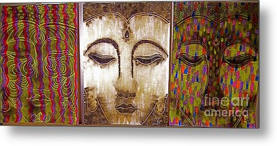 We Are All One Metal Print by Aixa Rios