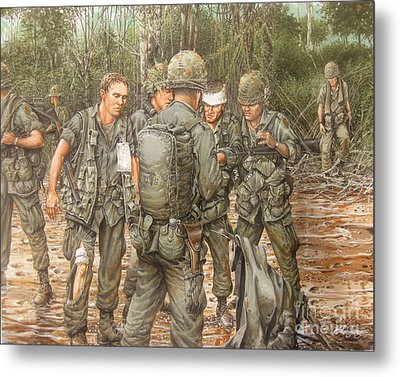 We Are Our Brothers' Keepers Metal Print by Bob  George