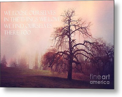 Metal Print featuring the photograph We Loose Ourselves by Sylvia Cook