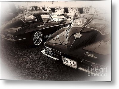 We Love Corvettes  Metal Print