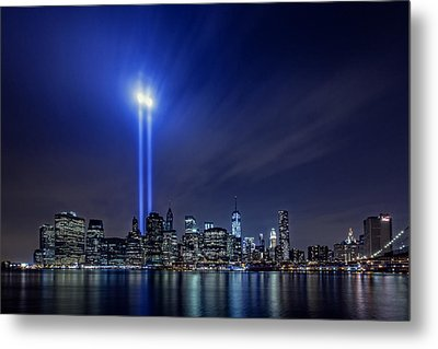 We Remember Metal Print by Rick Berk