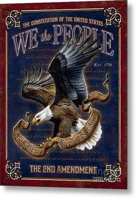 We The People Metal Print by JQ Licensing Don Kloetzke