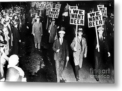 We Want Beer Metal Print by Jon Neidert