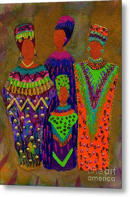 We Women 4 Metal Print