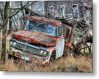 Weary Metal Print by Thomas Danilovich