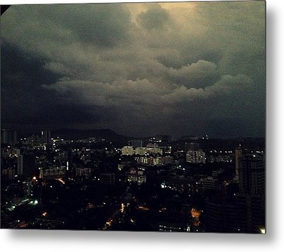 Weather Coming Metal Print by Peter  Menner