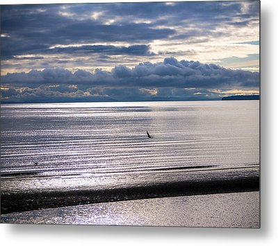 Metal Print featuring the photograph Weather Water Waves by Jordan Blackstone
