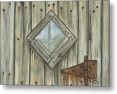 Weathered #1 Metal Print