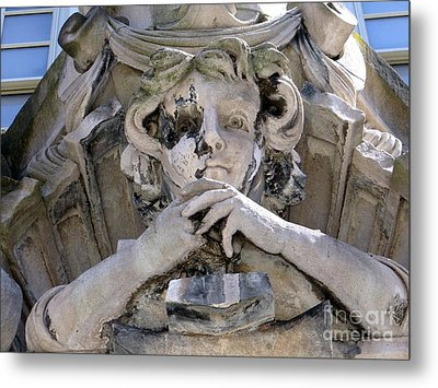 Weathered And Wise Metal Print by Ed Weidman