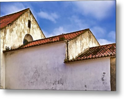Weathered Barn Of Medieval Europe Metal Print by David Letts