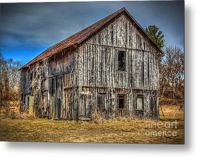 Weathered Metal Print by Dan Stone