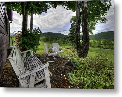 Metal Print featuring the photograph Weathered Rest by Tim Stanley