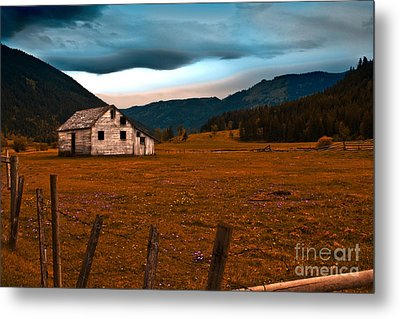 Metal Print featuring the photograph Weathered by Sandi Mikuse