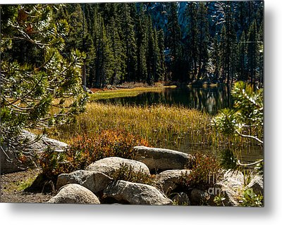 Weaver Lake -1-7682 Metal Print