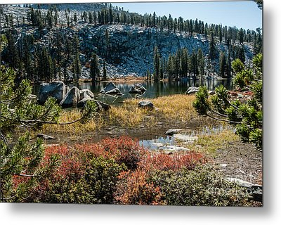 Weaver Lake- 1-7695 Metal Print