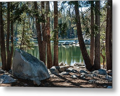 Weaver Lake  1-7700 Metal Print