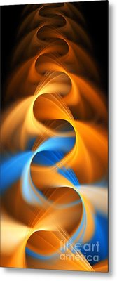 Weaving Color  Metal Print