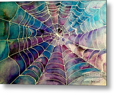 Web Metal Print by D Renee Wilson