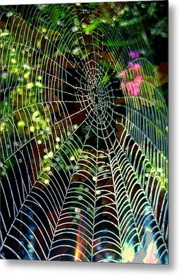 Web Of Entanglement Metal Print by Shirley Sirois