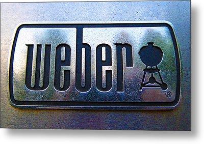 Weber Metal Print by Laurie Tsemak