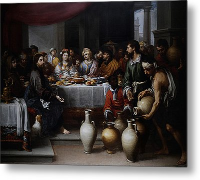 Wedding At Cana Metal Print