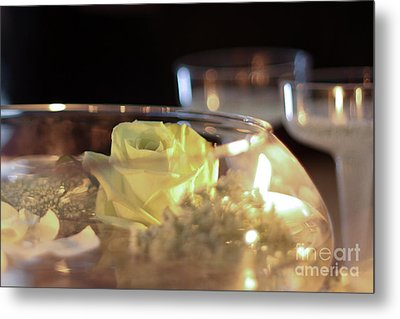 Wedding Bliss Metal Print by Terry Weaver