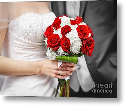 Wedding Metal Print by Elena Elisseeva