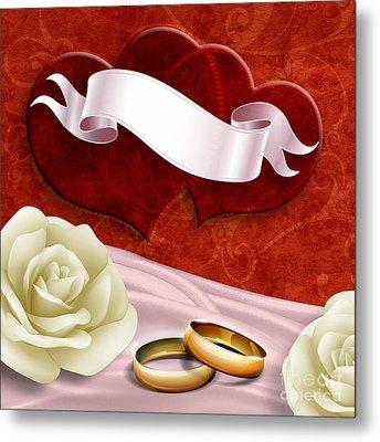 Wedding Memories V2 Passion Metal Print by Bedros Awak