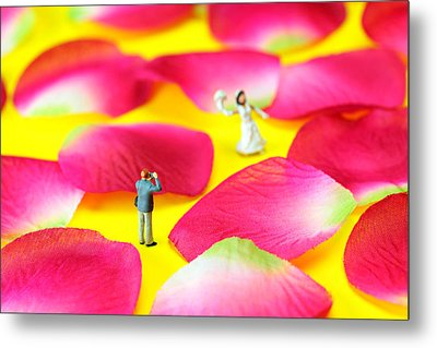 Wedding Photography Little People Big Worlds Metal Print by Paul Ge