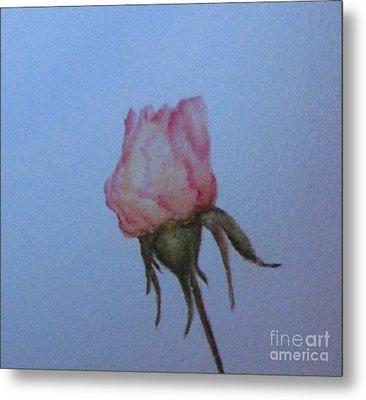 Wedding Rose Metal Print
