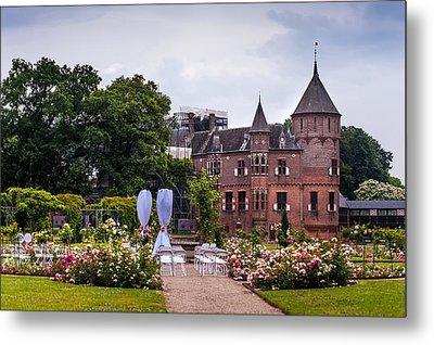 Wedding Setting In De Haar Castle. Utrecht Metal Print by Jenny Rainbow