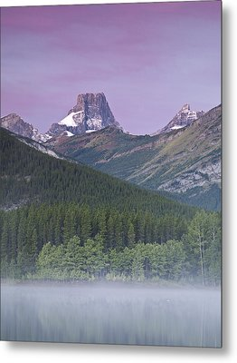 Wedge Pond And The Fortress Metal Print