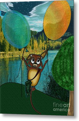 Weeeeeeee Metal Print by NightVisions